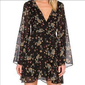 NWT Free People Lilou Printed Dress sz S
